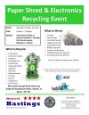 Paper Shred & Electronics Recycling Event